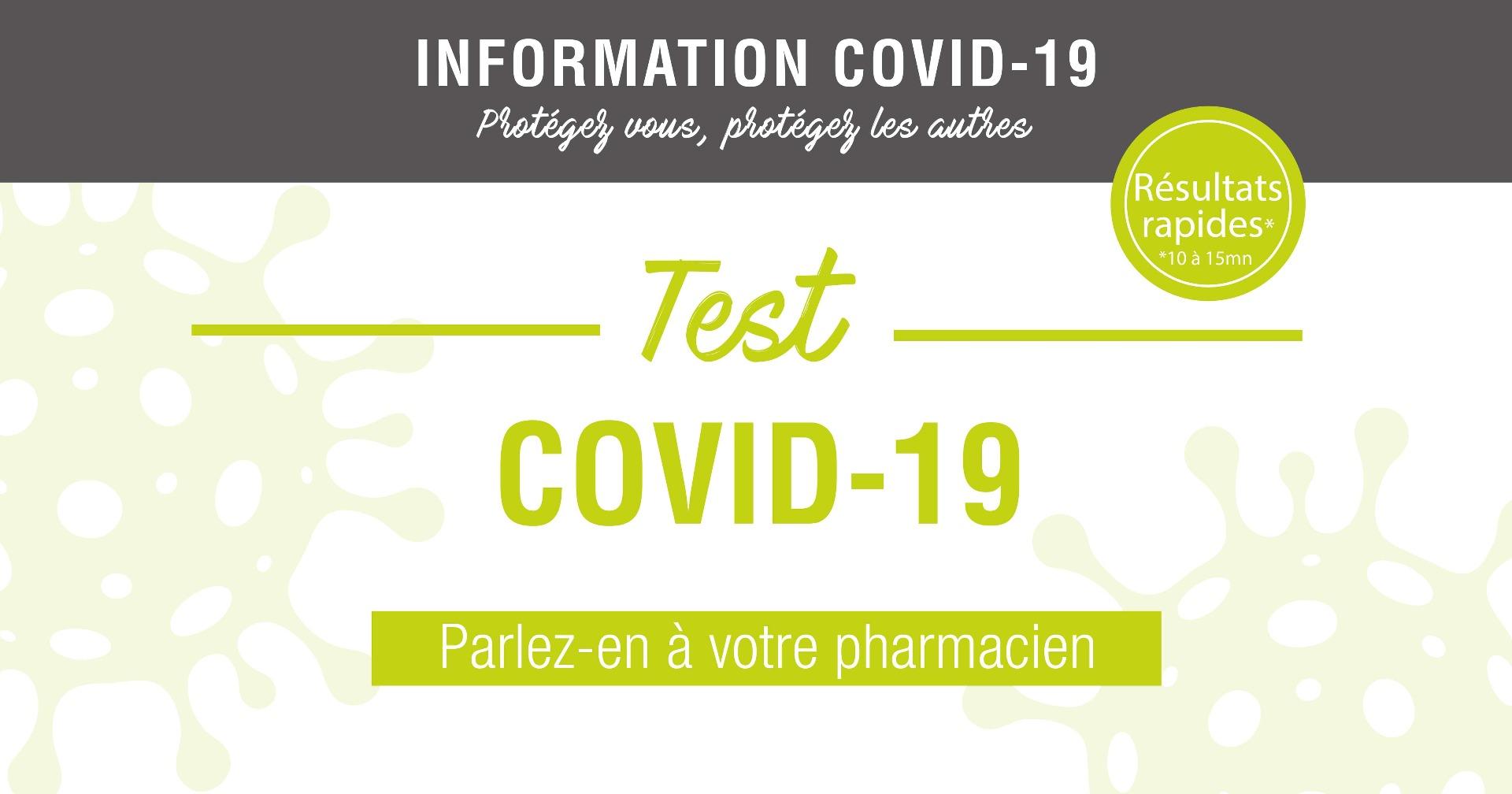 Le Test Covid-19