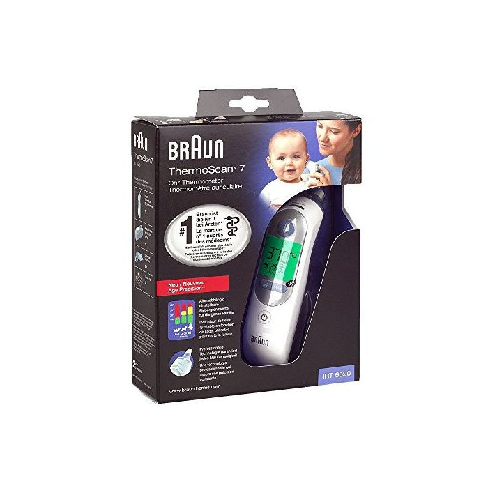 Braun Thermoscan 7 Thermomètre Auriculaire IRT6520
