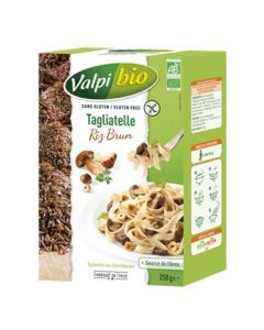 Valpi Bio Tagliatelle Riz Brun Sans Gluten 250g