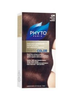 Phytocolor Couleur Soin 4m Chatain Clair Marron Kit
