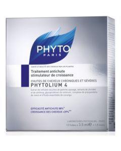 Phyto Phytolium 4 Traitement Anti-chute 12 Fioles + 6 Offertes