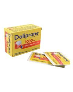 Doliprane poudre sachet solution buvable 1000 mg