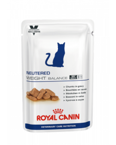 Royal Canin Vet Care Neutered Weight Balance Chat Sachets 12 x 100g