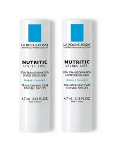 La Roche Posay Nutritic Lèvres Lot de 2 Sticks 4.7ml