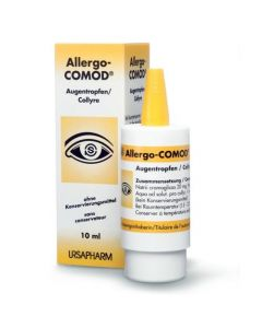 Allergocomod collyre flacon 10 ml