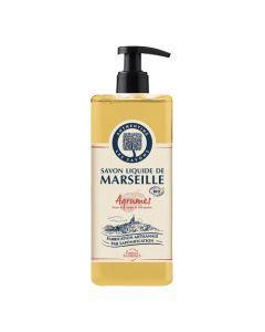 Authentine Savon Liquide De Marseille Agrumes Bio 1 L