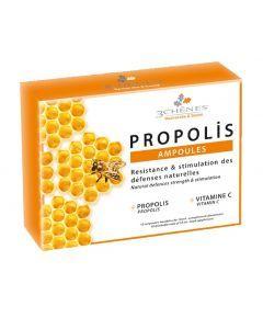 3 Chênes Propolis 10 Ampoules