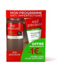 Eau Précieuse Coffret Lotion 375ml + Gel Nettoyant Purifiant 150ml