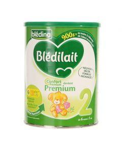 Blédina Blédilait Lait 2ème Âge Confort Premium 900g