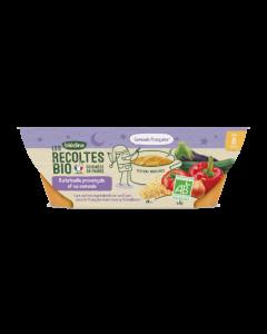 Blédina Les Récoltes Bio Ratatouille Provençale et Semoule dès 8 mois 2x200g