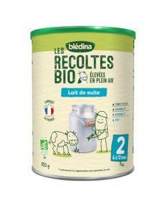 Blédinat Les Récoltes Bio Lait de Suite 2ème âge 800g