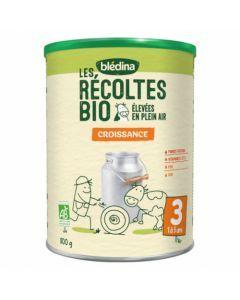 Blédina Les Récoltes Bio Croissance 800g