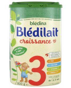 Blédina Blédilait Croissance+ de 1 à 3 ans 800g