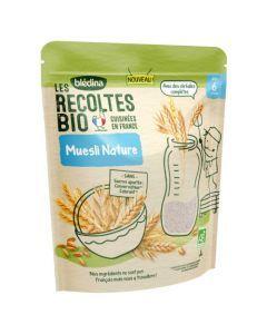 Blédina Les Récoltes Bio Muesli Nature dès 6 mois 180g