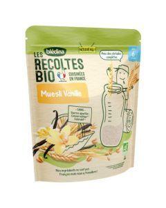 Blédina Les Récoltes Bio Muesli Vanille dès 6 mois 200g
