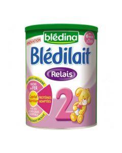 Blédilait Relais Lait 2ème Âge de 6 Mois à 1 An 900g