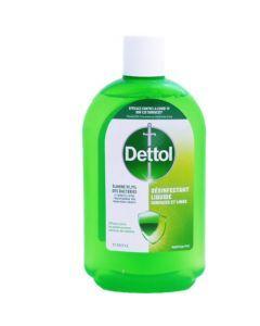 Dettol Désinfectant Liquide Surfaces et Linge 500ml