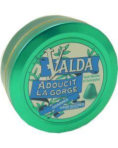 Valda Pastilles Sans Sucre Menthe Eucalyptus 50 Gommes