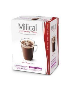 Milical Hyperprotéiné Cacao 6 Sachets