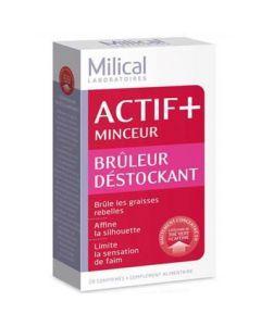 Milical Actif+ Minceur Bruleur Destockant 28 Comprimés