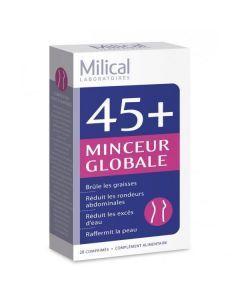 Milical 45+ Minceur Globale 28 Comprimés