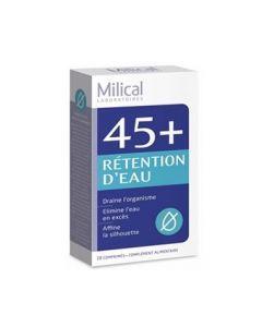 Milical 45+ Rétention d'Eau 28 Comprimés