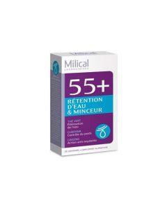 Milical 55+ Rétention d'Eau 28 Comprimés