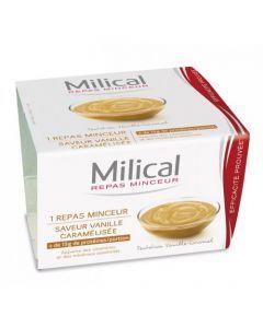 Milical Go Repas Minceur Coupelle Vanille Caramel 210g