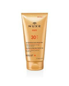 Nuxe Sun Lait Délicieux Haute Protection SPF30 Tube 150ml