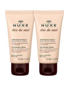 Nuxe Rêve de Miel Crème Mains Et Ongles Lot de 2x50ml