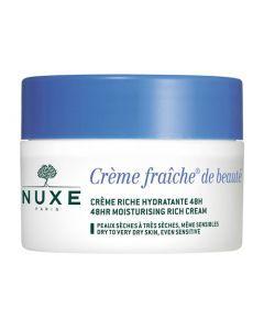 Nuxe Crème Fraîche de Beauté Riche Hydratante 50ml