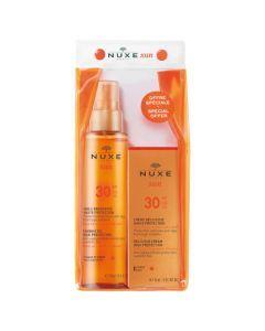 Nuxe Trousse SPF30 : Huile Bronzante SPF30 150ml + Crème Délicieuse SPF30 50ml