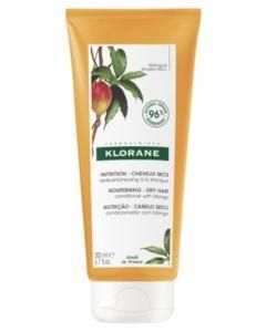 Klorane Après-Shampoing Mangue Nutrition Cheveux Secs 200ml