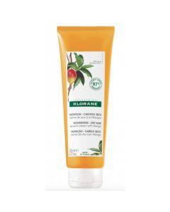 Klorane Crème de Jour à la Mangue Nutrition Cheveux Secs 125ml