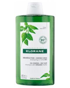 Klorane Shampoing Séboréducteur Cheveux Gras à l'Ortie 400ml