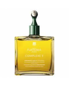 Rene Furterer Complexe 5 Concentré Végétal Stimulant aux Huiles Essentielles Chaudes 50 ml