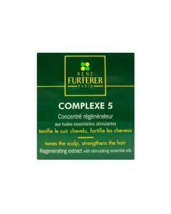 Rene Furterer Complexe 5 Concentré Régénérateur 12 Ampoules