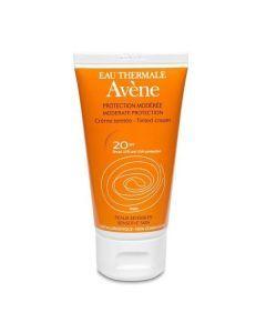 Avène Crème Solaire Teintée Protection Modérée Peaux Sensibles Spf20 50ml