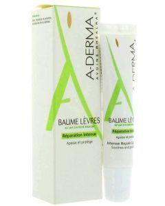A-derma Baume Lèvres Réparation Intense 15ml