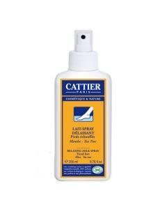 Cattier Lait Spray Délassant Pieds Échauffés 200ml