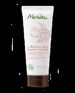 Melvita l'Argan Bio Crème Mains Veloutée Bio 75ml