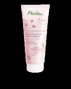 Melvita Crème de Douche Pétales de Roses & Miel d'Acacia Bio 200ml