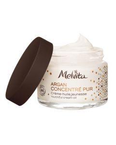 Melvita Argan Concentré Pur Crème Huile Jeunesse 50ml