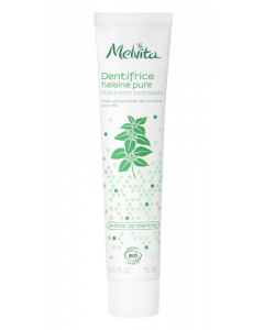 Melvita Dentifrice Haleine Pure Menthe Bio 75ml