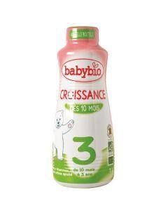 Babybio Croissance Liquide Lait de Suite à partir de 10 Mois 1L