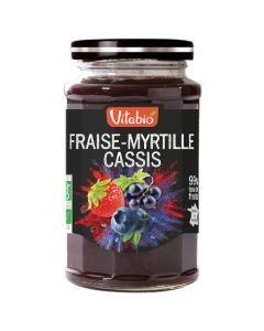 Vitabio Délice Spécialité de Fraise Myrtille Cassis Bio 290g