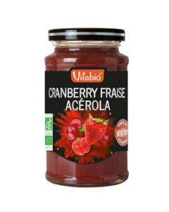 Vitabio Délice Superfruits Spécialité de Cranberry Fraise Acerola Bio 290g