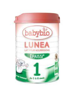 Babybio Lunea 1 Lait pour Nourrissons Bio Épaissi de 0 à 6 Mois 900g