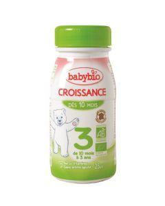 Babybio Croissance Liquide Lait de Suite à partir de 10 Mois 250ml