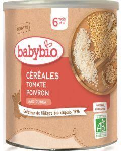 Babybio Céréales Tomate Poivron avec Quinoa dès 6 mois 220g